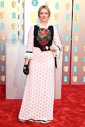 Edith Bowman attending the 72nd British Academy Film Awards held at the Royal Albert Hall, Kensington Gore, Kensington, London