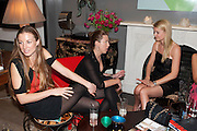 LAUREN MATIC; ANDREA TESE; JEMMA KIDD, Party hosted for Jason Wu by Plum Sykes and Christine Al-Bader. Ladbroke Grove. London. 22 March 2011. -DO NOT ARCHIVE-© Copyright Photograph by Dafydd Jones. 248 Clapham Rd. London SW9 0PZ. Tel 0207 820 0771. www.dafjones.com.