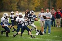 Silver Hawks Varsity football versus Bow 9am Saturday, October 6, 2012.