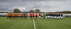 Before the action on the pitch, Falkirk and Alloa took time to pause and remember all those who had lost their lives in past wars as well as all those who lost their lives during the recent tragic events in Paris.<br /> Falkirk 5 v 0 Alloa Athletic, Scottish Championship game played at The Falkirk Stadium.
