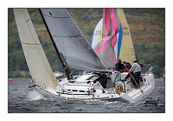 Savills Kip Regatta 2011, the opening regatta of the Scottish Yachting Circuit, held on the Clyde...Salamander XX1, First 35, FRA 37296.