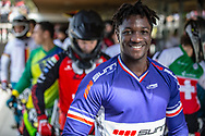#7 (MIR Amidou) FRA during round 4 of the 2017 UCI BMX  Supercross World Cup in Zolder, Belgium.