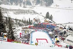 Venue during 2nd run of Men's Slalom race of FIS Alpine Ski World Cup 57th Vitranc Cup 2018, on March 4, 2018 in Podkoren, Kranjska Gora, Slovenia. Photo by Ziga Zupan / Sportida