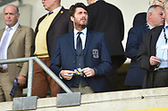 Coventry City Chairman Tim Fisher during the EFL Sky Bet League 1 match between Oxford United and Coventry City at the Kassam Stadium, Oxford, England on 9 September 2018.