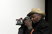 New York, NY-Jan. 11: Photographer Louis Mendes attends the Gordon Parks: I AM YOU Opening Reception presented by the Gordon Parks Foundation  held at the Jack Shanmain Gallery on January 11, 2018 in New York City.  (Photo by Terrence Jennings/terrencejennings.com)