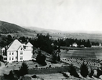1900 Looking east from Laurel Canyon