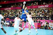 20120811 France Handball Femme Jeux Olympiques Londres premier tour Copper Box