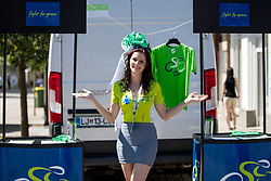 Manja Dobrilovic, hostess, during 2nd Stage of 26th Tour of Slovenia 2019 cycling race between Maribor and Celje (146,3 km), on June 20, 2019 in Slovenia.. Photo by Matic Klansek Velej / Sportida