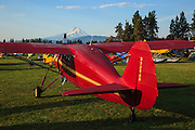 Farichild 24W-D at Hood River Fly In at Western Antique Aeroplane and Automobile Museum