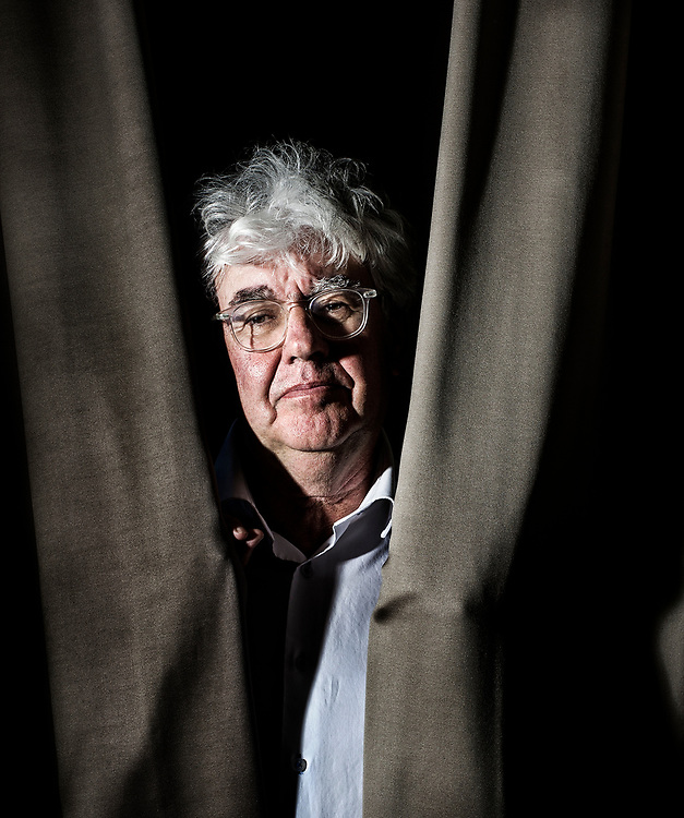 Nederland. Amsterdam, 10-08-2012. Foto: Patrick Post.  Portret van Geert Ludzer Mak, schrijver.