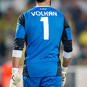 Fenerbahce's goalkeeper Volkan Demirel during their UEFA Europa League Group Stage Group C soccer match Fenerbahce between Marseille at Sukru Saracaoglu stadium in Istanbul Turkey on Thursday 20 September 2012. Photo by TURKPIX