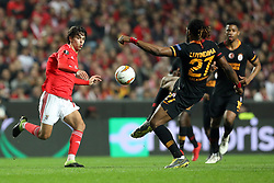 February 21, 2019 - Lisbon, Portugal - João Félix of SL Benfica in action during the Europa League 2018/2019 footballl match between SL Benfica vs Galatasaray AS. (Credit Image: © David Martins/SOPA Images via ZUMA Wire)