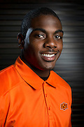 DALLAS, TX - JULY 21:  Oklahoma State wide receiver Jhajuan Seales poses for a portrait during the Big 12 Media Day on July 21, 2014 at the Omni Hotel in Dallas, Texas.  (Photo by Cooper Neill/Getty Images) *** Local Caption *** Jhajuan Seales