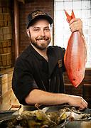 Fish Monger at the Ive City Smokehouse in Washington DC