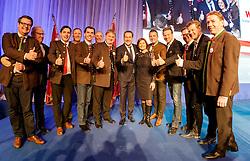 04.03.2017, AUT, FPÖ, 32. Ordentlicher Bundesparteitag, im Bild Bundesparteiobmann Heinz Christian Strache und Kärntner Delegierte //  at the 32nd Ordinary Party Convention of the Freiheitliche Partei Oesterreich (FPÖ) in Klagenfurt, Austria on 2017/03/04. EXPA Pictures © 2017, PhotoCredit: EXPA/ Wolgang Jannach