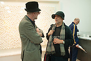 RICHARD STRANGE; RON ARAD, The Years, Gavin Turk<br /> Private view:  , Ben Brown Fine Arts, 12 Brooks Mews, London, W1. 25 April 2013.