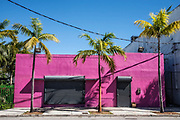 Murals in Wynwood Arts District, NW 2nd Avenue, Miami, Florida, USA