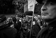Many partecipant weared fascit uniforms. About 2000 fascists gathered in Predappio, Italy to commemorate the annivrsary of the 'Marcia su Roma' A march held on October 28th 1922 and marked the start of the Italian fascist era .Federico Scoppa
