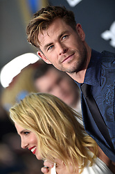 Elsa Pataky and Chris Hemsworth attend the world premiere of Walt Disney Studios Motion Pictures 'Avengers: Endgame' at the Los Angeles Convention Center on April 22, 2019 in Los Angeles, CA, USA. Photo by Lionel Hahn/ABACAPRESS.COM