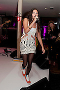 Eliza Doolittle, InStyle's Best Of British Talent Party in association with Lancome. Shoreditch HouseLondon. 25 January 2011, -DO NOT ARCHIVE-© Copyright Photograph by Dafydd Jones. 248 Clapham Rd. London SW9 0PZ. Tel 0207 820 0771. www.dafjones.com.