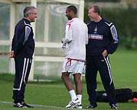 Photo: Paul Thomas.<br /> England Training Session. 01/09/2006.