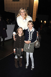 "TANIA BRYER and her daughters FRANCESCA and NATASHA at a VIP Opening night of Disney & Pixar's ""Finding Nemo on Ice"" at The O2 Arena Grennwich London on 23rd October 2008."