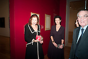 LADY FOSTER; MELANIE CLORE;  Picasso and Modern British Art, Tate Gallery. Millbank. 13 February 2012