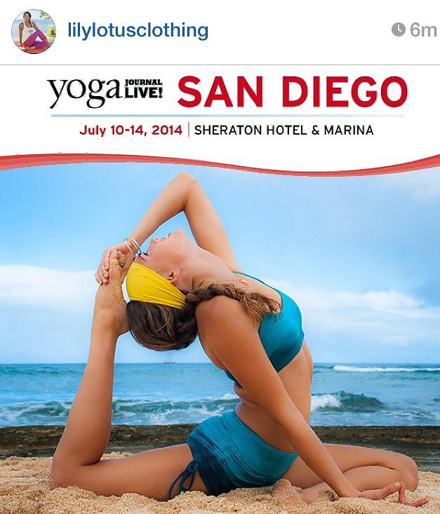 Lily Lotus Yoga Journal San Diego
