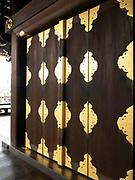 One of the Higashi-Honganji Temple Hall ornate doors