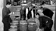 Stacking up on porter at Killarney Mineral Waters in the 1960's.<br /> Picture by Donal MacMonagle.