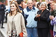 101816 Queen Letizia attends a Meeting at the headquarters of the 'Mental Health Confederation Spain