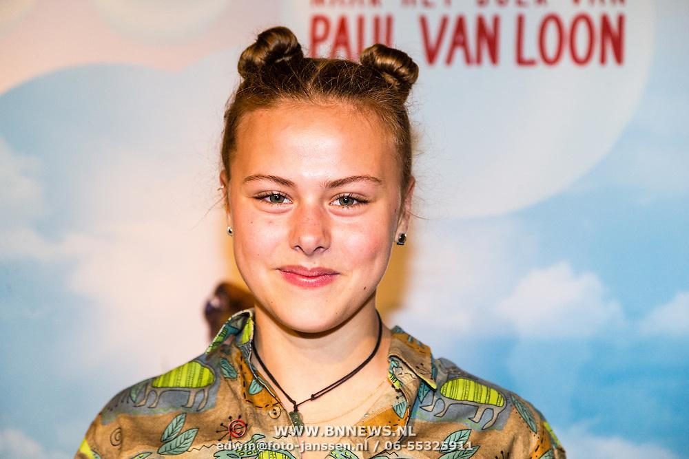 NLD/Amsterdam/20160716 - Groene loper première Meester Kikker, Susan Radder