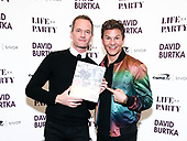 'Life is A Party Cookbook' by David Burtka launch, New York, USA