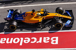 February 21, 2019 - Barcelona, Barcelona, Spain - Lando Norris from Great Britain with 04 Mclaren F1 Team - Renault MCL34 in action during the Formula 1 2019 Pre-Season Tests at Circuit de Barcelona - Catalunya in Montmelo, Spain on February 21, 2019. (Credit Image: © Xavier Bonilla/NurPhoto via ZUMA Press)