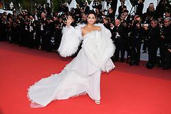 May 20, 2019 - Cannes, Provence-Alpes-Cote d'Azu, France - 72eme Festival International du Film de Cannes. Montée des marches du film ''La Belle Epoque''. 72th International Cannes Film Festival. Red Carpet for ''La belle Epoque'' movie.....239573 2019-05-20 Provence-Alpes-Cote d'Azur Cannes France.. Rai, Aishwarya (Credit Image: © Philippe Farjon/Starface via ZUMA Press)
