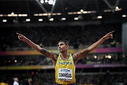 August 5, 2017 - London, Great Britain - Michel Tornéus, Sweden, long jump..IAAF World Championships, Day 2, London, UK, 2017-08-05....(c) WIXTRÖM JIMMY  / Aftonbladet / IBL BildbyrÃ¥....* * * EXPRESSEN OUT * * *....AFTONBLADET / 85325 (Credit Image: © WixtrÖM Jimmy/Aftonbladet/IBL via ZUMA Wire)