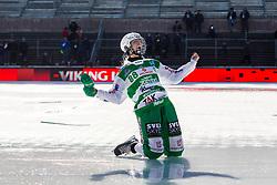 March 23, 2019 - Uppsala, SVERIGE - 190323 VästerÃ¥s Matilda Plan jublar efter segern i SM-finalen i bandy mellan VästerÃ¥s och Skutskär den 23 mars 2019 i Uppsala. (Credit Image: © Tobias Sterner/Bildbyran via ZUMA Press)