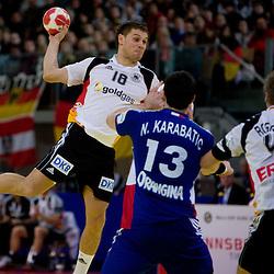 20100124: Handball -  Germany vs. France - Men's European Handball Championship 2010, Austria