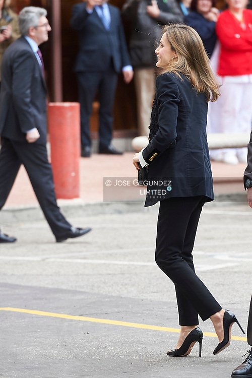 Queen Letizia of Spain attends an Ordinary meeting of the Fundeu BBVA Advisory Board on February 28, 2017 in Madrid