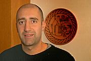 Marcelo Laitano the oenologist and wine maker. Bodega Carlos Pizzorno Winery, Canelon Chico, Canelones, Uruguay, South America