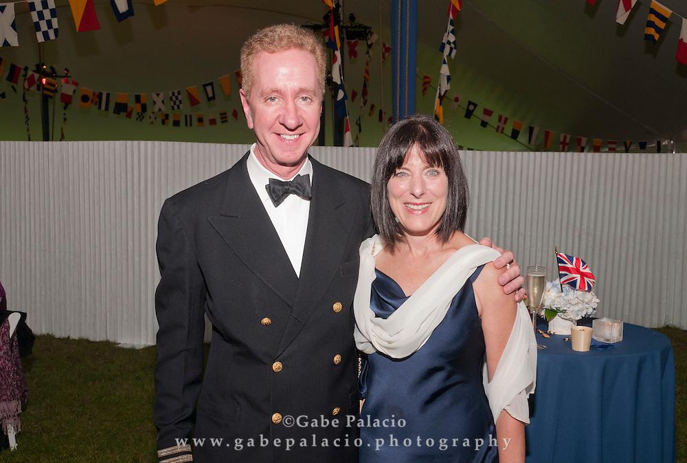 Opening night gala for HMS Pinafore at Caramoor in Katonah New York on June 25, 2011..photo by Gabe Palacio