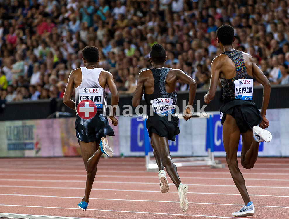 Men's 5000m during the Iaaf Diamond League meeting (Weltklasse Zuerich) at the Letzigrund Stadium in Zurich, Switzerland, Thursday, Aug. 29, 2019. (Photo by Patrick B. Kraemer / MAGICPBK)