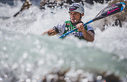 08.09.2018, Lienz, AUT, 31. Red Bull Dolomitenmann 2018, im Bild Lukas Kubrican (CZE, Kolland Topsport Professional) // Lukas Kubrican (CZE, Kolland Topsport Professional) during the 31th Red Bull Dolomitenmann. Lienz, Austria on 2018/09/08, EXPA Pictures © 2018, PhotoCredit: EXPA/ Stefanie Oberhauser