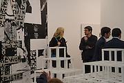 TAMSIN EGERTON; JOS HARTNETT, Opening of Frieze , Regents Park, London 12 October 2015
