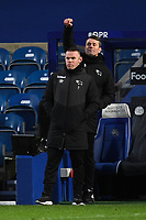 Football - 2020 / 20-21 Sky Bet Championship - Queens Park Rangers vs Derby County - Kiyan Prince Foundation Stadium<br /> <br /> Derby County Manager Wayne Rooney with first team coach Shay Given.<br /> <br /> COLORSPORT