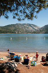 Pinecrest Lake, Picnic and Water, Pinecrest, California, USA.  Photo copyright Lee Foster.  Photo # california122513