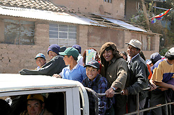 People In Truck