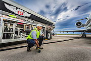 Created as advertising at Opa-locka Executive Airport, near Miami.  <br /> <br /> Created by aviation photographer John Slemp of Aerographs Aviation Photography. Clients include Goodyear Aviation Tires, Phillips 66 Aviation Fuels, Smithsonian Air & Space magazine, and The Lindbergh Foundation.  Specialising in high end commercial aviation photography and the supply of aviation stock photography for advertising, corporate, and editorial use.