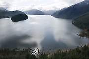 The reservoir of water for Seattle; Cedar River Watershed. (Tom Reese / The Seattle Times)