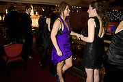 ISABEL ROFFE-SILVESTER; AMELIA LATHAM-WAKE, The 30th White Knights charity  Ball.  Grosvenor House Hotel. Park Lane. London. 10 January 2009 *** Local Caption *** -DO NOT ARCHIVE-© Copyright Photograph by Dafydd Jones. 248 Clapham Rd. London SW9 0PZ. Tel 0207 820 0771. www.dafjones.com.<br /> ISABEL ROFFE-SILVESTER; AMELIA LATHAM-WAKE, The 30th White Knights charity  Ball.  Grosvenor House Hotel. Park Lane. London. 10 January 2009